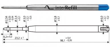 G2 InterRefill metal